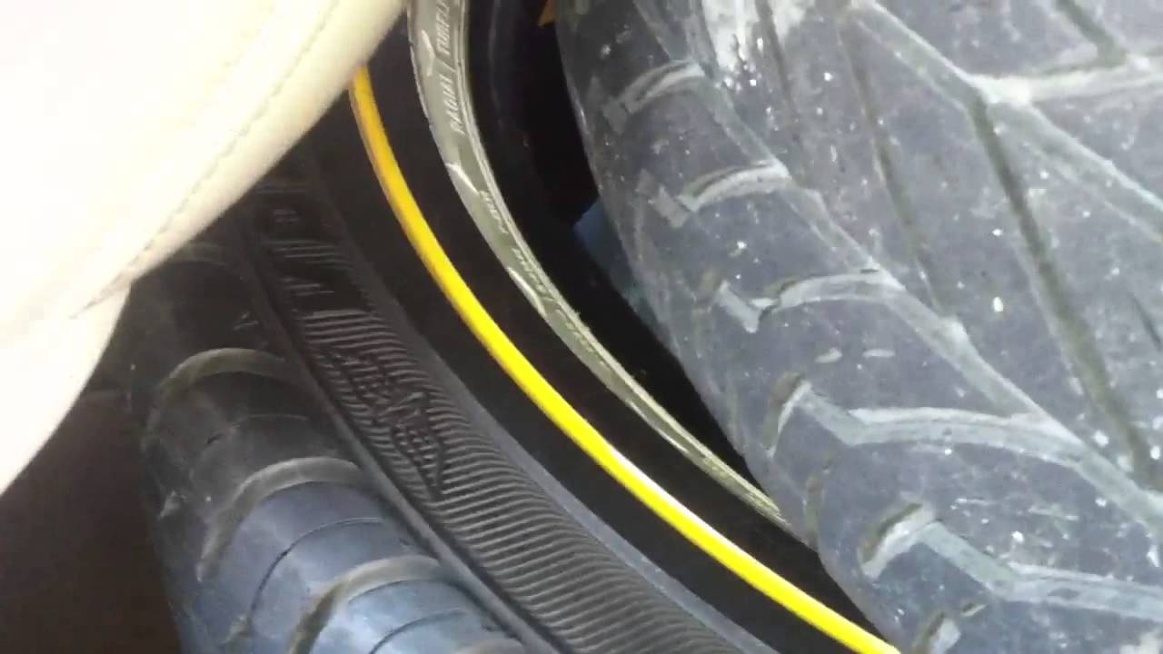 New tires Lincoln Town Car - YouTube