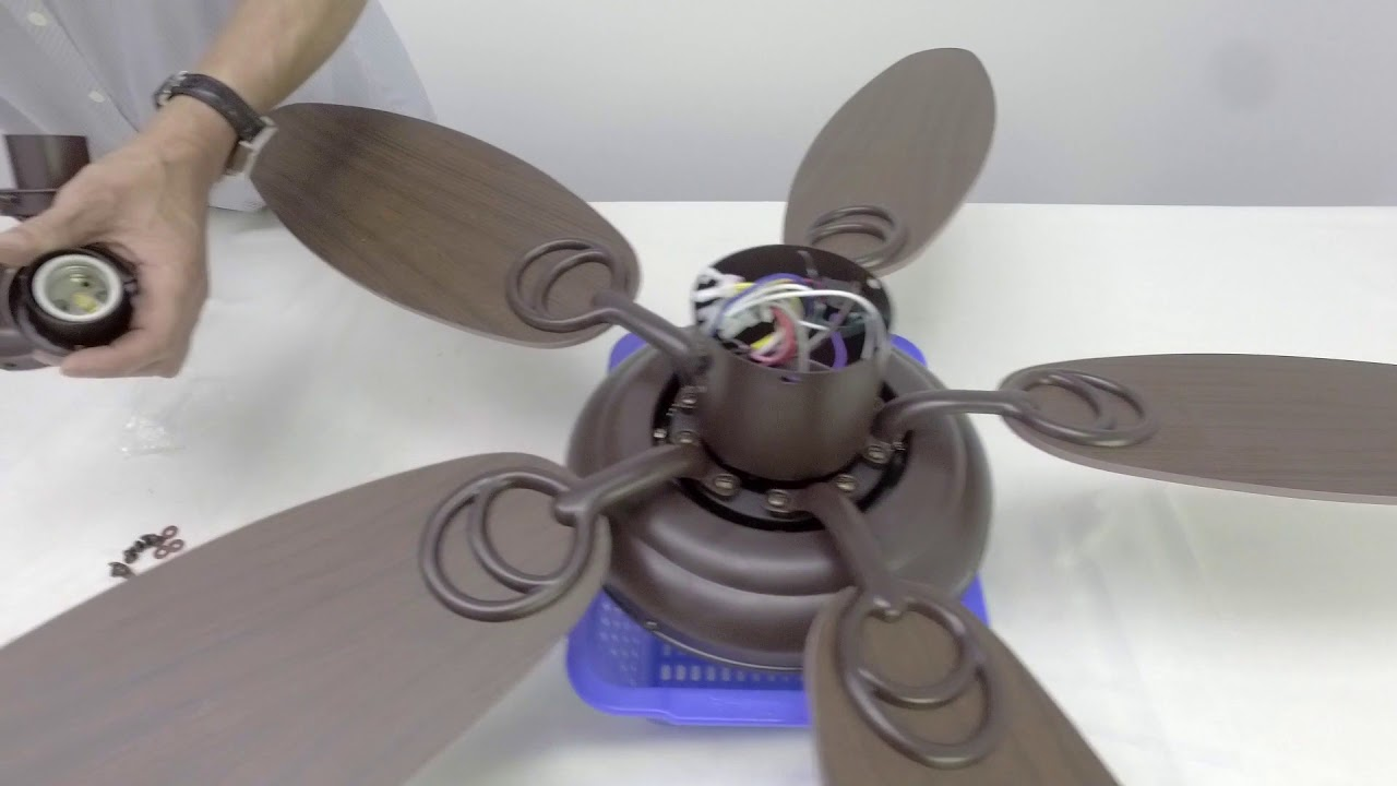 How To Install Ceiling Fan Light