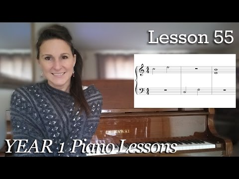 Free Beginner Piano Lesson | #55 - Harmonic and Melodic Intervals |  [Year 1] 4-7