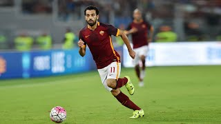 SALAH is one of the fastest footballers in the world I AS ROMA