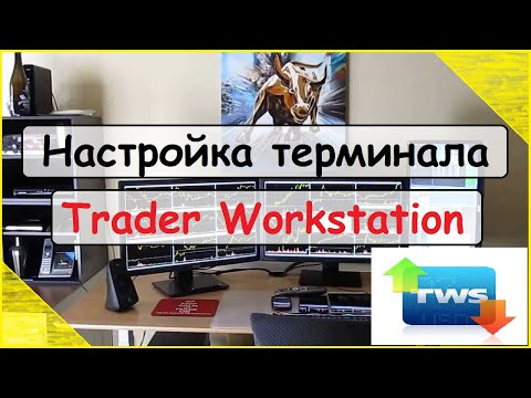 Настройка терминала Trader Workstation (TWS) у Interactive Brokers