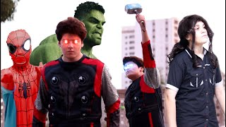 The Avengers in Real Life!  Eid Special Short Film