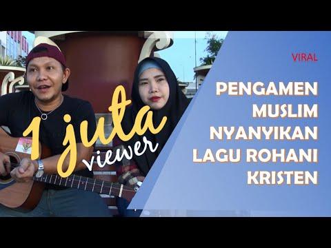 Suami Istri Muslim di Manado Ini Nyanyikan Lagu Rohani Kristen Untuk Toleransi