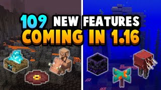 Minecraft 1.16 Has 109 New Features!