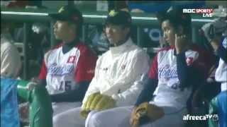 2014 仁川 亞運棒球 香港對韓國