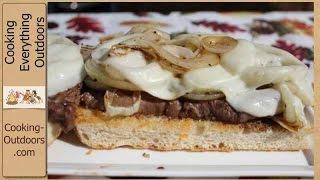 Island Grillstone Open Faced Rib Eye Sandwich Recipe!