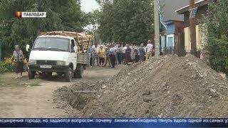 Сюжет о противостоянии людей и строителей на улице Тульская