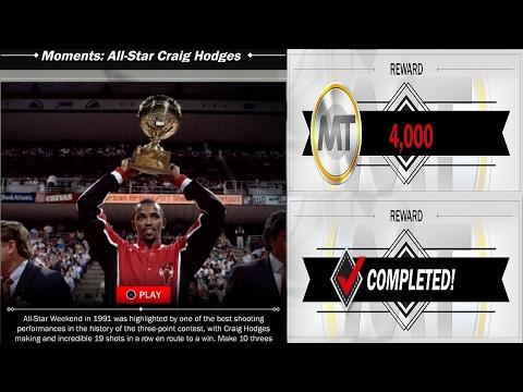 NBA 2K17 MyTeam Craig Hodges Moments Challenge