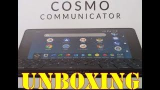 Cosmo Communicator Unboxing