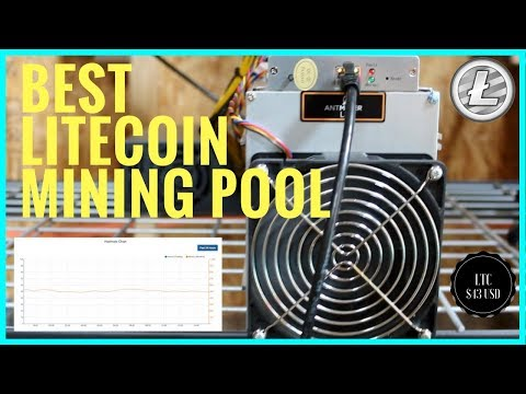 What Is The Best Litecoin Mining Pool ? F2Pool - Prohashing - Antminer L3+