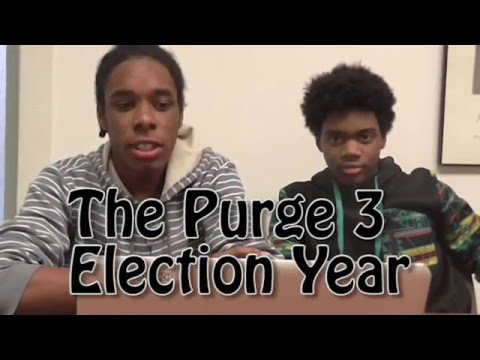 Masean's The Purge 3 Election Day Reaction w/ DaVinci Jackson