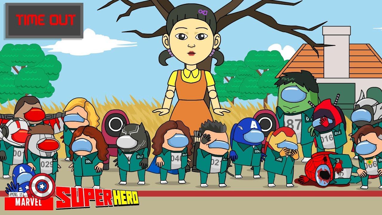 Play Squid Game Marvel - Among Us Marvel - Among Us SuperHero