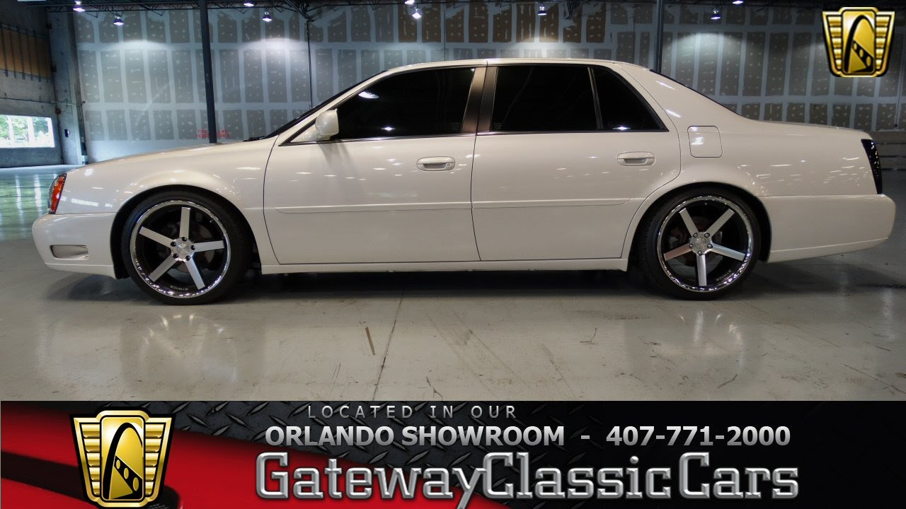 2001 Cadillac DTS Gateway Classic Cars Orlando #163 - YouTube