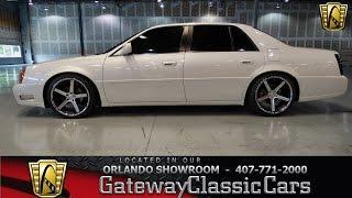 2001 Cadillac DTS Gateway Classic Cars Orlando #163