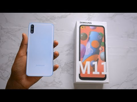 Samsung M11 Unboxing