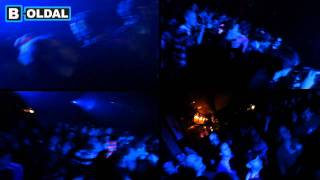 DJ Bootsie and visual artist Kemuri at A38 Budapest, Hungary, 26 Oc...