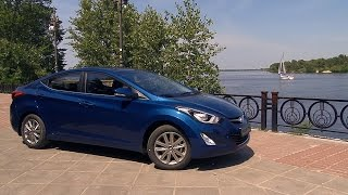 Hyundai Elantra: тест-драйв. Компания