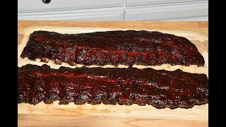 Amazing BBQ Ribs - How To Cook Baby Back Ribs Perfectly - Offset Smoker