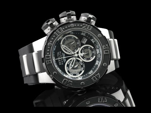 Invicta 21639 52mm Reserve Subaqua Sea Dragon Swiss Chronograph Watch w Submarine Hatch Style Covers