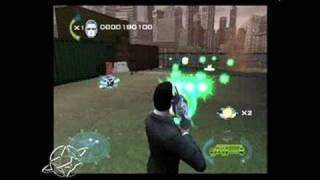 Men In Black II: Alien Escape PlayStation 2 Gameplay