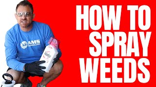 DIY- How To Kill Weeds (Application)