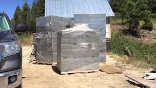 Off The Grid Project: Episode #11 - Building Site Preparation