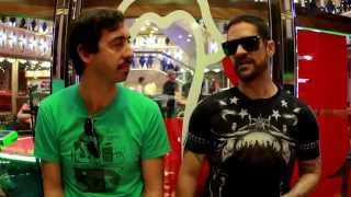 Entrevista DJ Mau Mau para DJ Sound no Chilli Beans Fashion Cruise 2015
