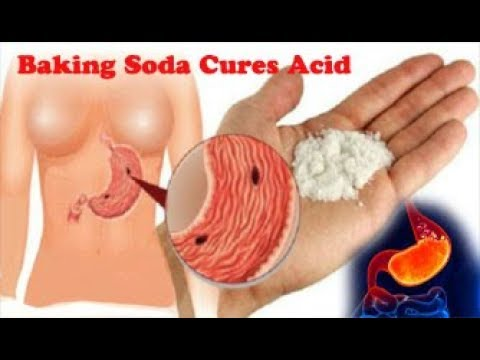 Watch how baking soda fights acid in your body