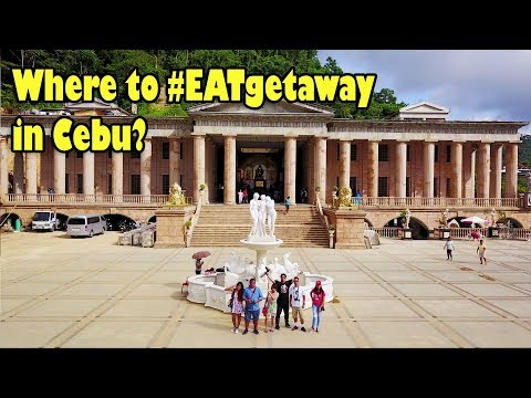 #EATgetaway in Cebu Episode 6 - Temple of Leah, Sirao Garden, Mactan Shrine and Lechon Alfresco