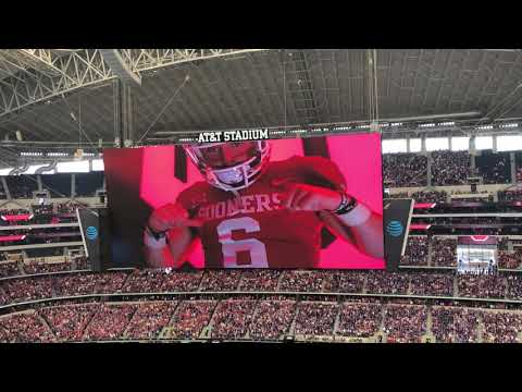 Bob Stoops video intro of OU Football at Big XII Championship