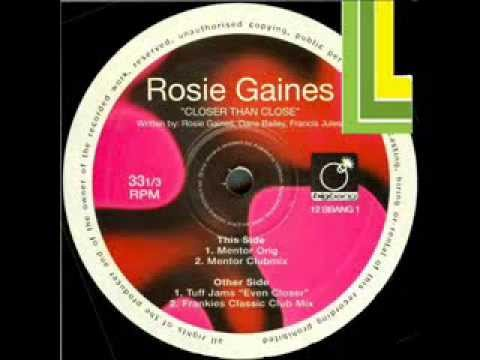 Rosie Gaines Closer Than Close Frankie Knuckles Clas