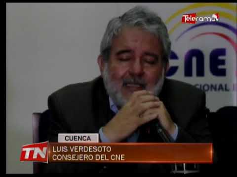 CNE anuncia acciones previas a los comicios