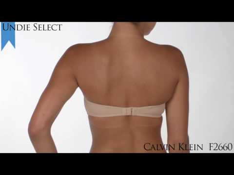 2010 Undie Awards Judges Selection -- Favorite Strapless Bra, Ave -- Calvin Klein F2660