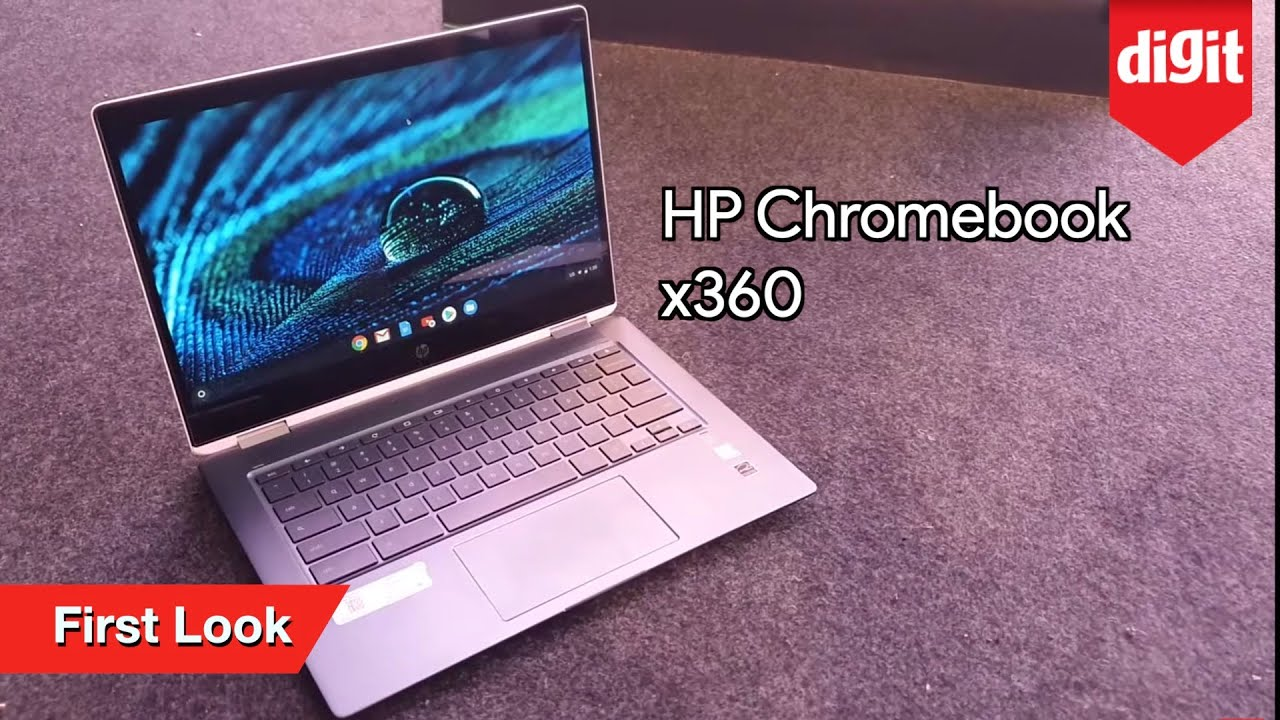 HP Chromebook x360 First Look | Intel 8th Gen Core i3 = Rs 44,990 | 8th Gen  Core i5 = Rs 52,990