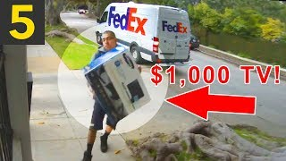 Top 5 WORST Delivery Drivers that Damaged Packages