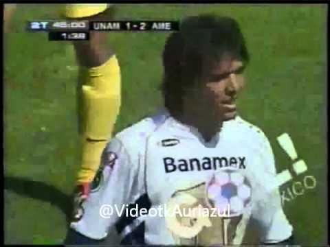 Gol De Martin Cardetti Al America Apertura 2005 J 14 Youtube