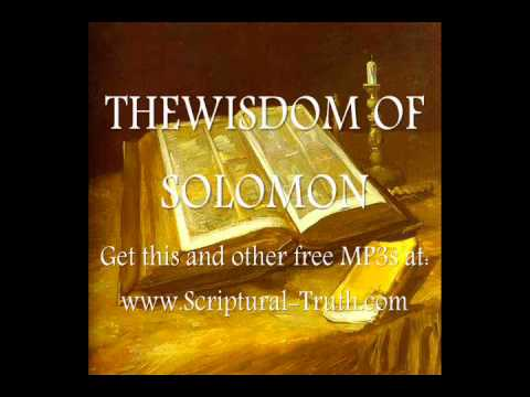 The Wisdom of Solomon - Entire Book (The Book of Wisdom)