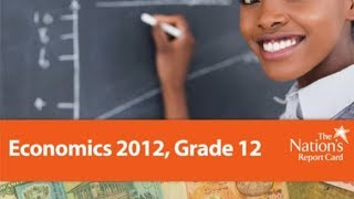 The Nation's Report Card Economics 2012