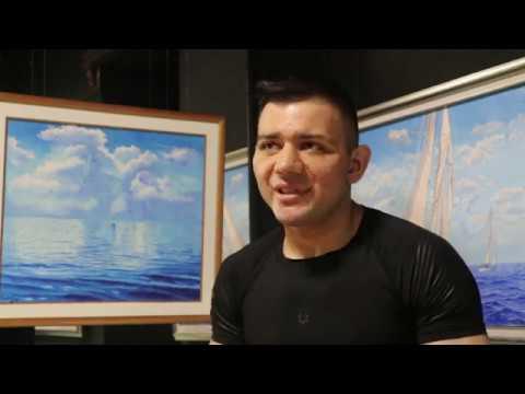 Solo Exhibition of painter Garry Arzumanyan at Nova Arts Gallery - Yerevan, Tumanyan 11