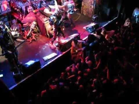 gwar brooklyn music hall of williamsburg oct 17, 2012