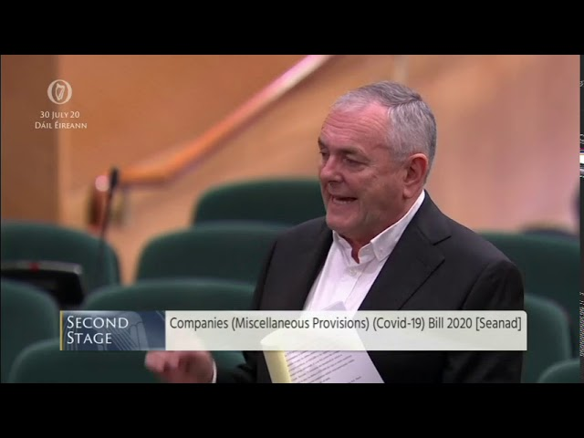 Deputy John McGuinness - speech from 30 Jul 2020