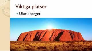 Naturreligioner - Med fokus på aboriginerna