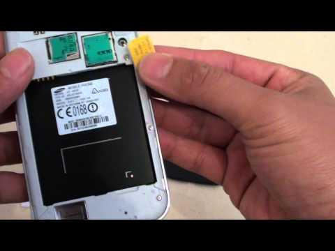 Samsung Galaxy S4: How to Insert New Micro SIM Card