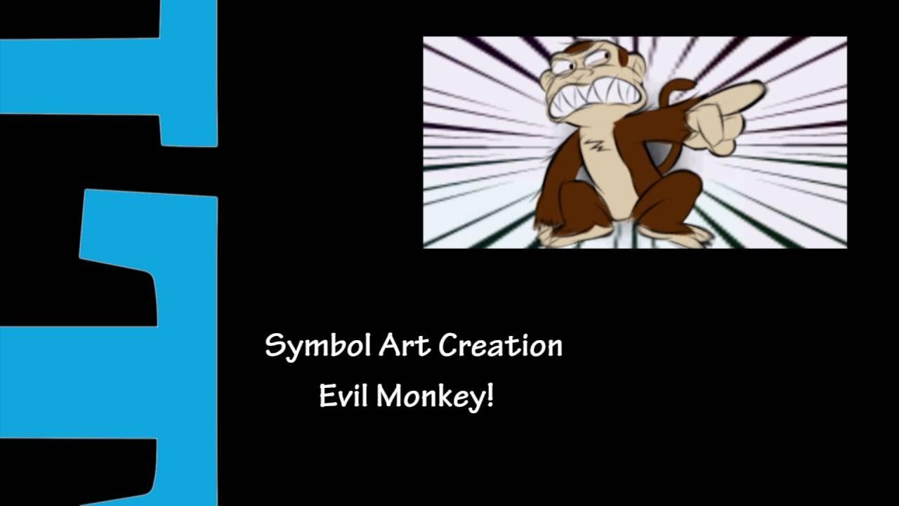 PSO2: Symbol Art - Evil Monkey - YouTube