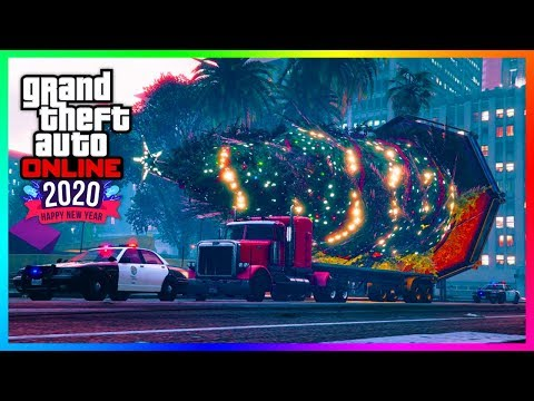 GTA 5 Online NEW YEARS 2020 DLC Update - Festive Surprise Gone, Snow Removed, FREE Items & MORE!