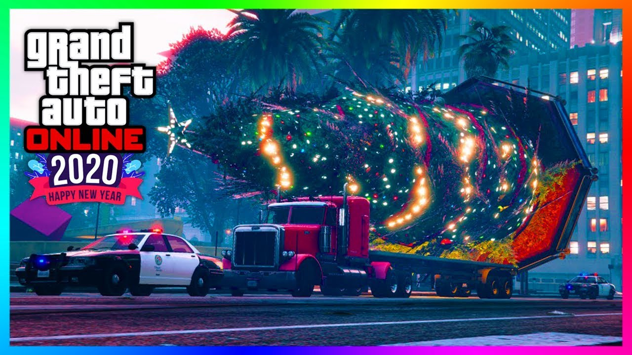 Fgta5 Christmas 2020 GTA 5 Online NEW YEARS 2020 DLC Update   Festive Surprise Gone