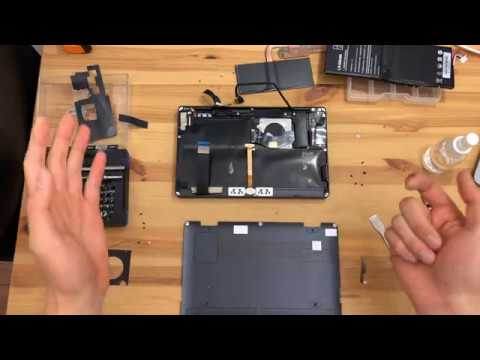 One-Netbook One Mix 3s Yoga - Tiny Laptop Full Teardown Disassembly