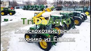 Обзор трактора John Deere 6200 (1997)