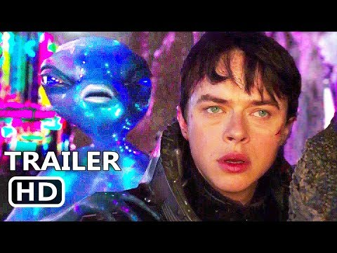 VALERIAN Final Trailer (2017) Cara Delevingne, Dane DeHaan, Rihanna Sci-Fi Movie HD