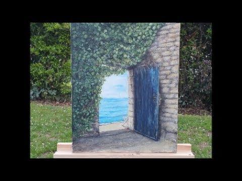 Acrylic Painting Ideas for Beginners/Acrylmalerei/Part 1